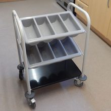 Ty Glyn Cutlery Dispense Trolley