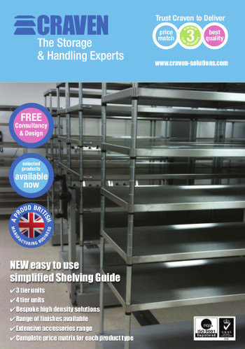 Craven Shelving Catalogue