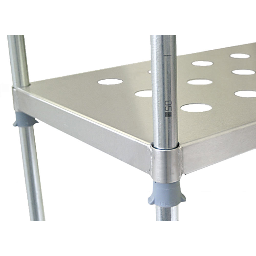 Stainless Steel Perforated Shelving